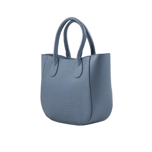 4ff7bcfd047 Handtas, lichtblauw - &zo tassen
